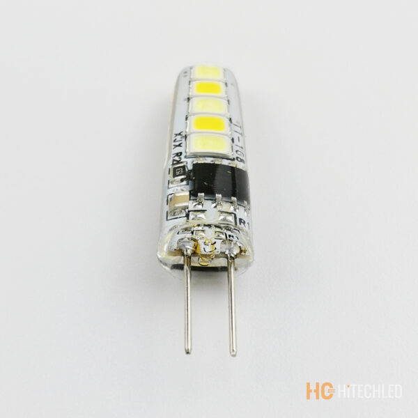 g4 1w led bulb 220v 2835 10d tricolor silicone 4