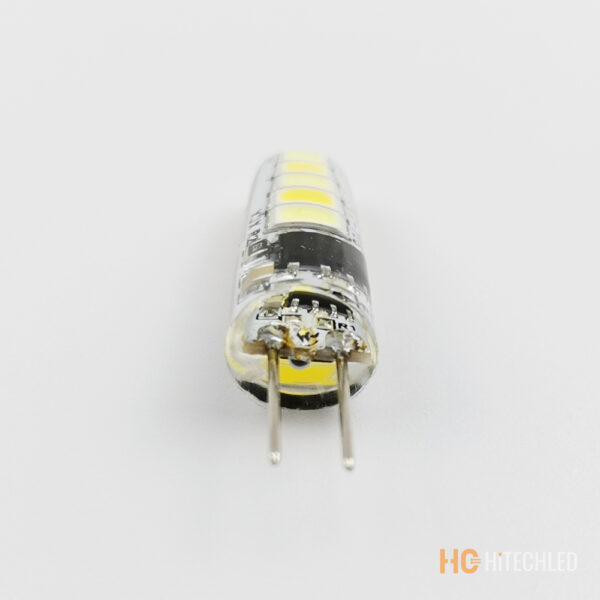 g4 1w led bulb 220v 2835 10d tricolor silicone 5