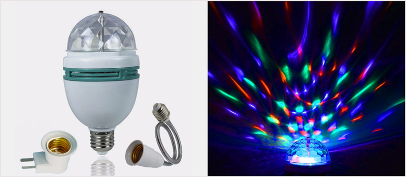 led colorful bulbs and applications