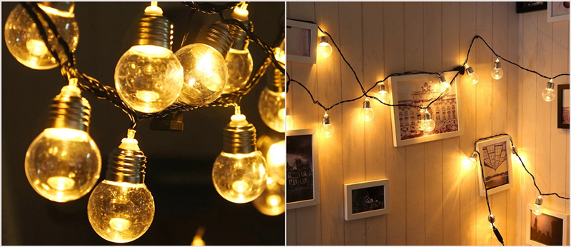 led holiday bulbs and applications